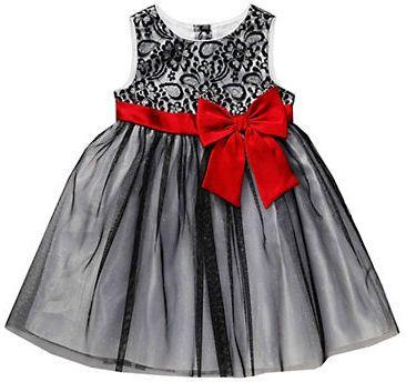b4e6eb09419 Sweetheart Rose Girls 2-6x Lace Occasion Dress