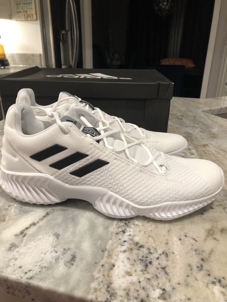 best website 9c95d adc88 NEW Adidas Pro Bounce 2018 Low White Size 16  fashion  clothing  shoes   accessories  mensshoes  athleticshoes (ebay link)
