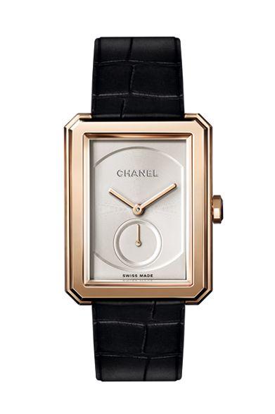 new products d2018 a369c CHANEL シャネル、マスキュリンな新作腕時計「BOY・FRIEND ...