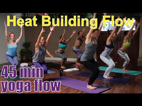 50 minute yoga class  hamstring stretch  youtube  yoga