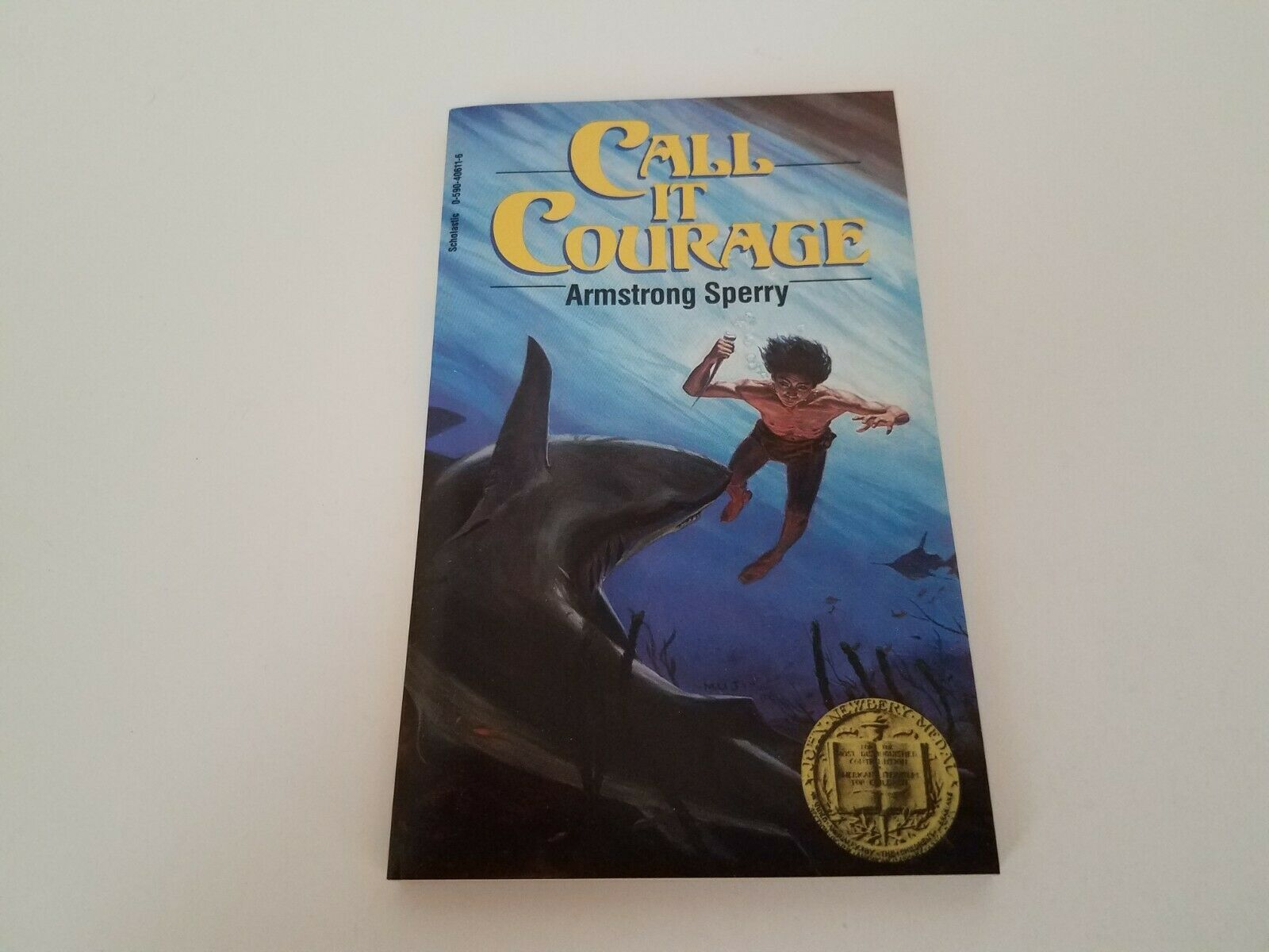 Details About Book Call It Courage Armstrong Sperry