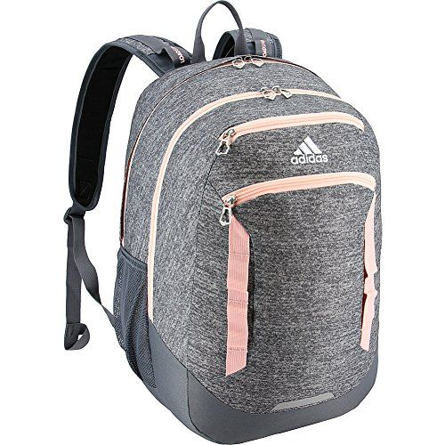 adidas Excel  39.99 –  54.41 (as of September 12, 2018, 12 15 pm) Roomy  sport-inspired backpack with four zipper compartments and padded air mesh  back for ... 3a2ba9e58f