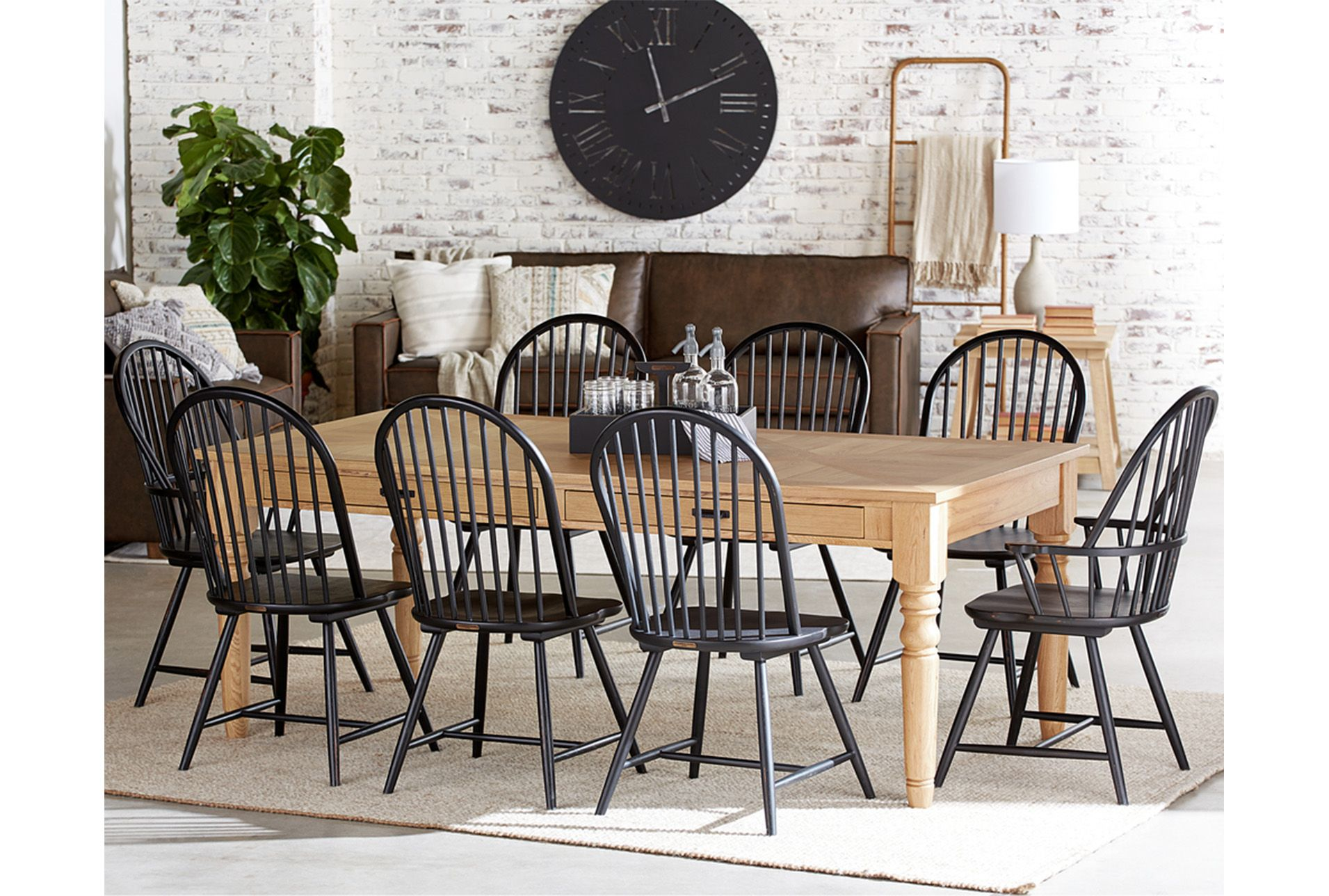 A Baker Needs A Spot For Everything Close At Hand And Joanna S Antique Inspired Baker S Joanna Gaines Kitchen Table Farmhouse Dining Room Table Magnolia Homes
