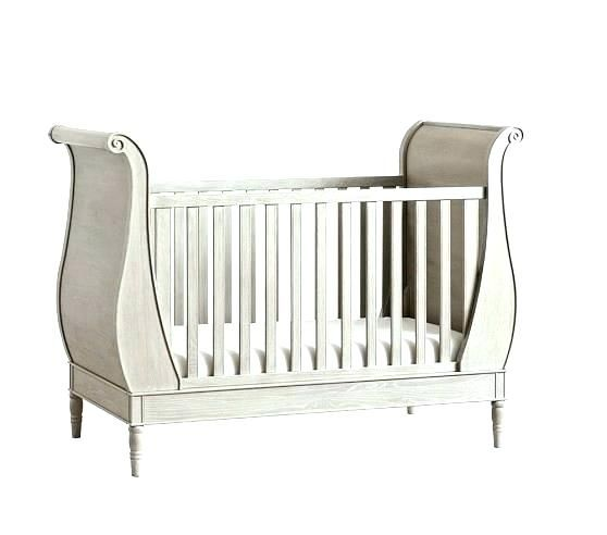 Sleigh Bed Crib Pottery Barn Sleigh Bed Attractive Sleigh Bed Crib