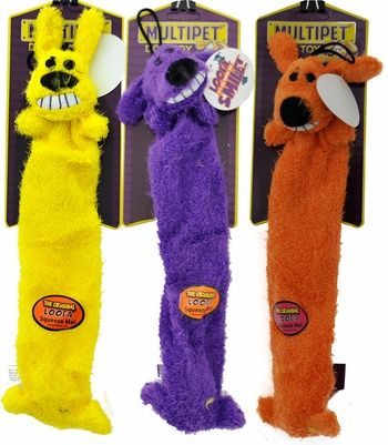 Multipet Lightweight Loofa Dog Toy 3 Pack 12 5 99 Dog Toys