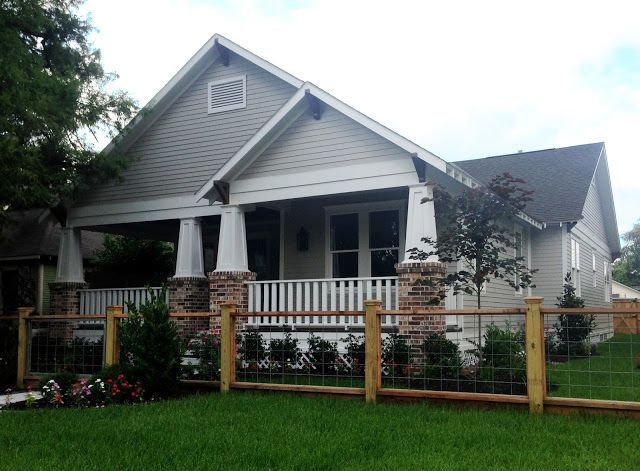 Project Update: MFI Bungalow in the Heights!  amazing gray by SW exterior paint