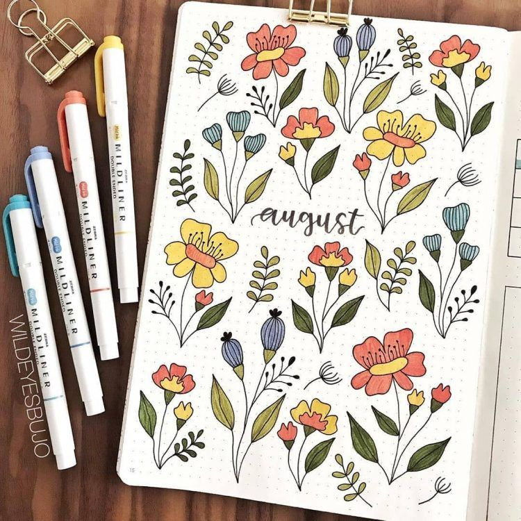 24 Monthly Bullet Journal Spreads You'll Want to Steal