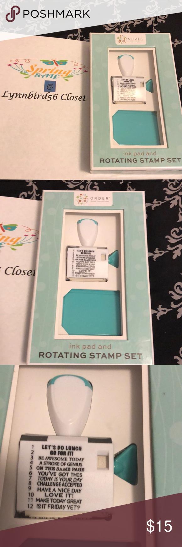 Nwt Stamp Set Stamp Set Stamp Stationery