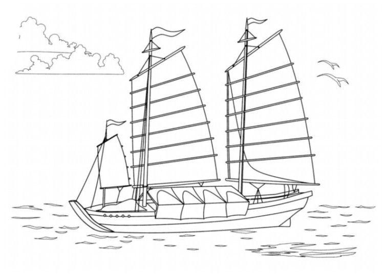 ausmalbilder für kinder schiffe 10  ausmalbilder