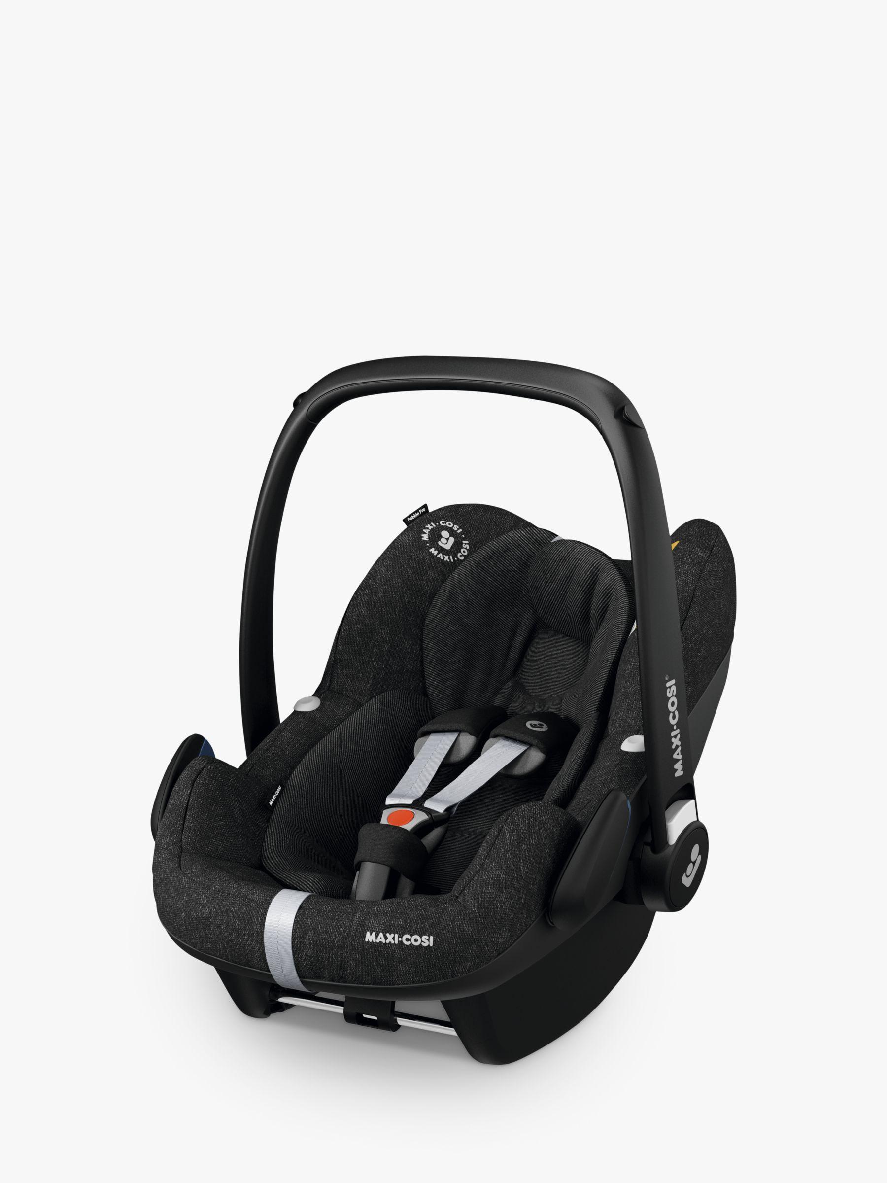 Maxi Cosi Pebble Pro I Size Group 0 Baby Car Seat Nomad Black Baby Car Seats Car Seats Car