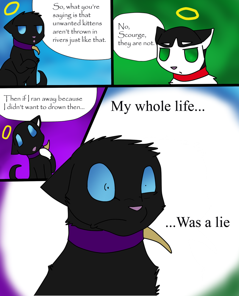 Omg Poor Scourge Why Did He Even Believe Ruby In The
