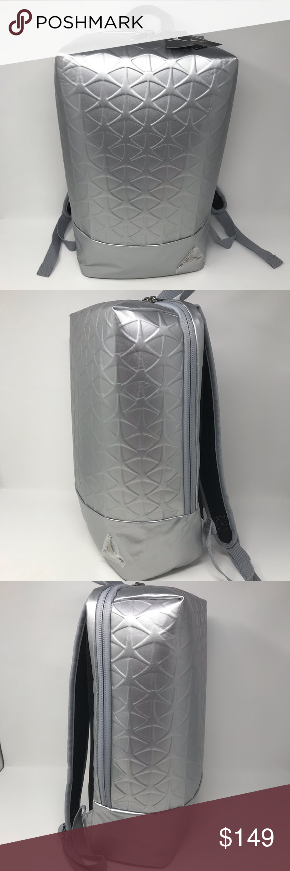 Nike Air Jordan Flight Flex Backpack Silver