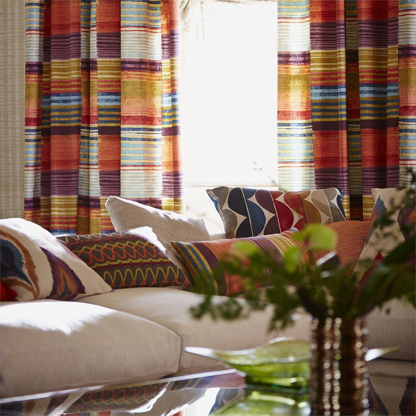Products harlequin designer fabrics and wallpapers paradise - Scion Designer Fabric And Wallpapers Products Medini Nspi120314 Spirit Fabrics