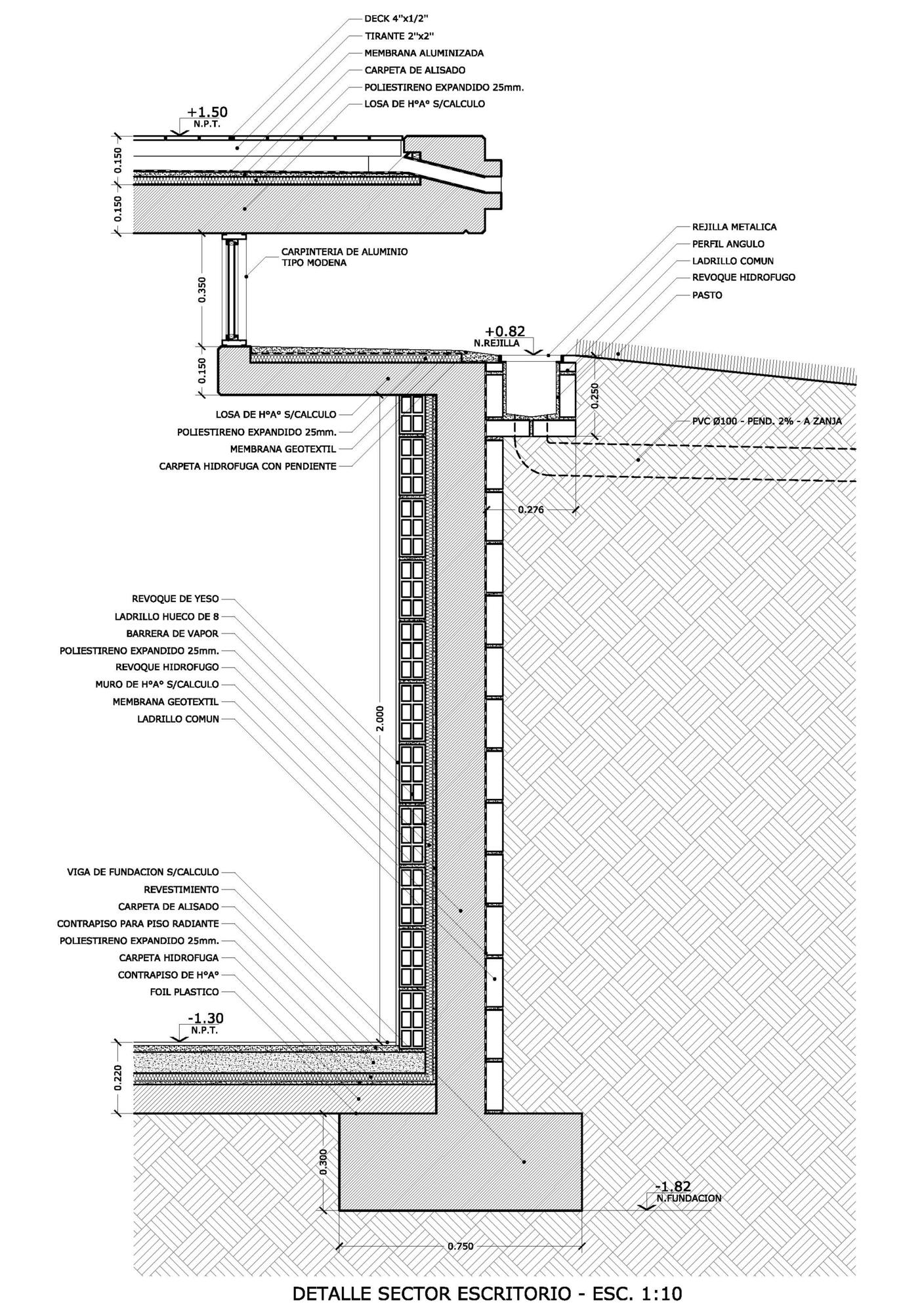 Galer a de casa c u b a mzm arquitectos 19 for Detalles constructivos de piscinas