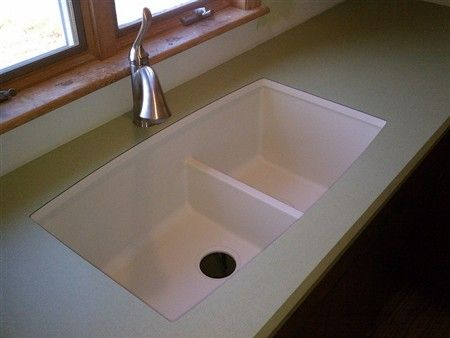 corian kitchen sinks undermount we just did a project in which we used a blanco quartz 5811