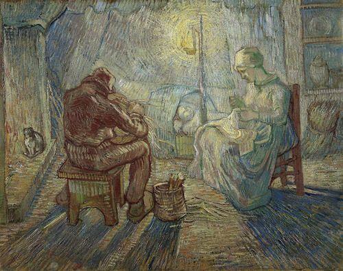 Vincent van Gogh, Night (after Millet), 1889