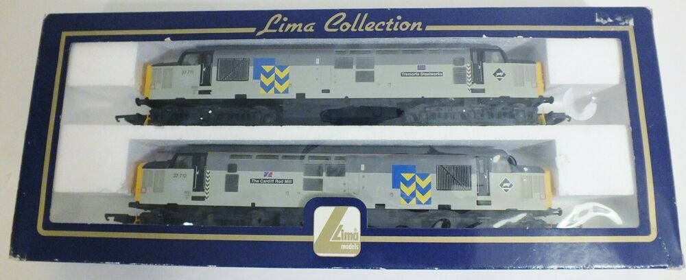 Lima Collection L204922 Set Of Two Class 37 Locomotives Limited Edition Oo Guag Lima In 2020 With Images Ebay Cool Stuff Locomotive