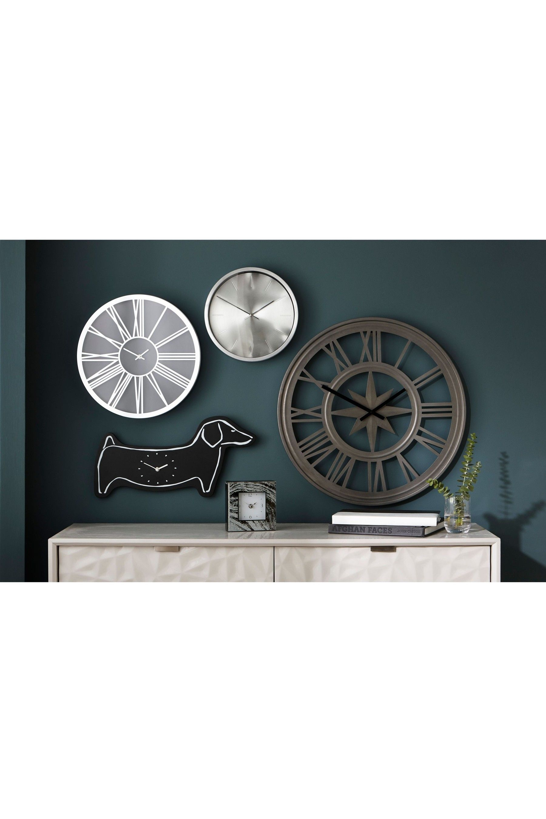 Buy Roman Numeral Wall Clock from the Next UK online shop