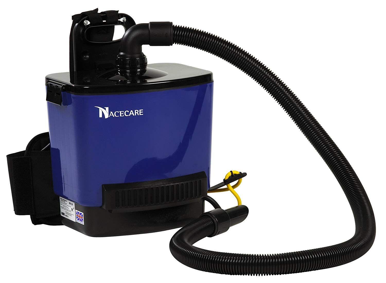 NaceCare RSV130 Back Pack Vacuum, 1.5 Gallon Capacity, 1