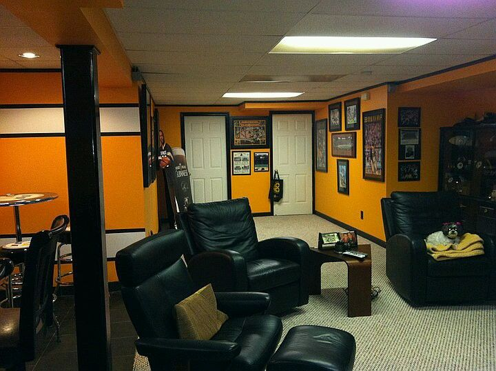 Pittsburgh Steelers Man Cave Decor : For the steelers man cave pinterest men