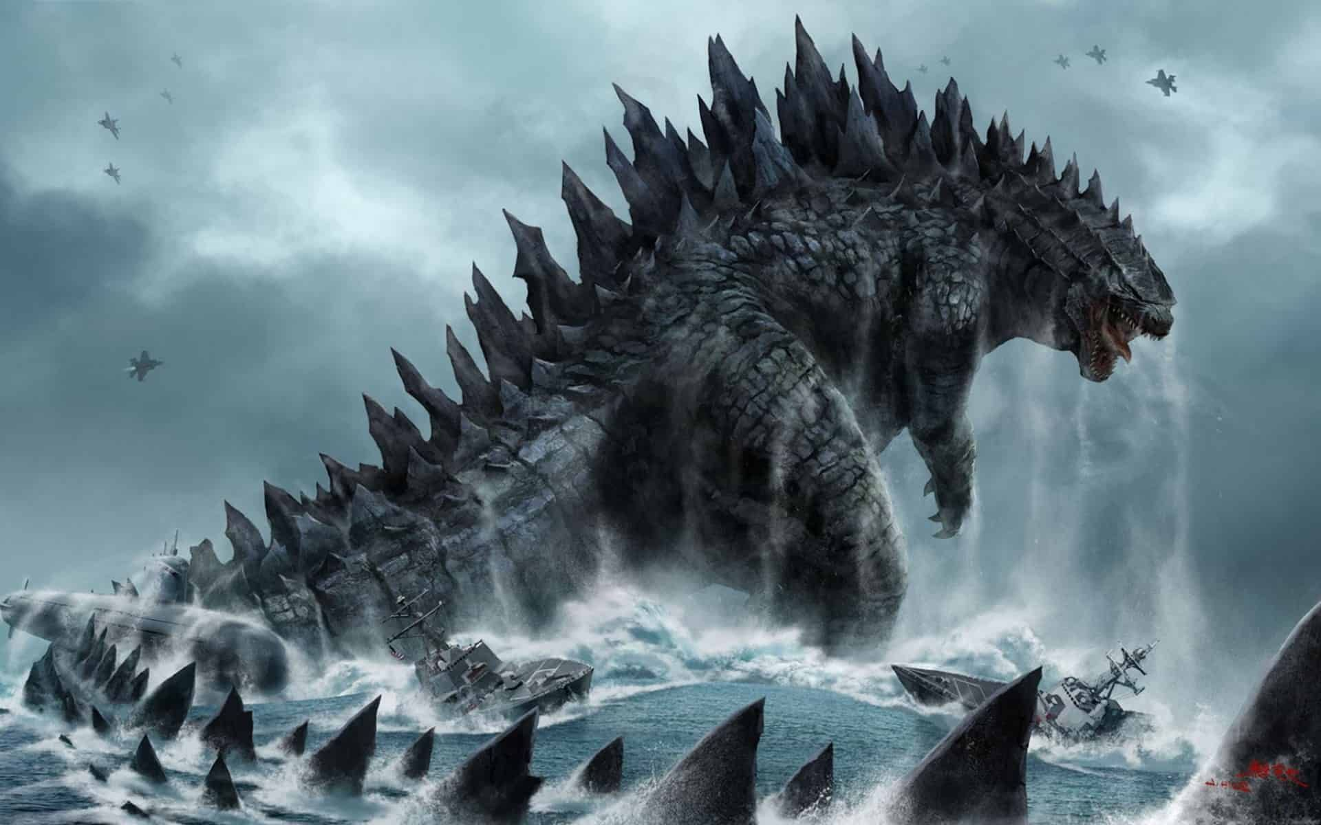 First godzilla anime film is set to release in 2017 here