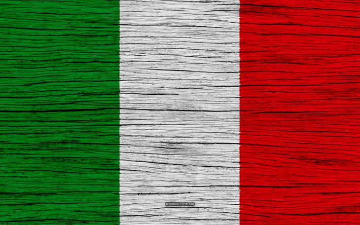 Download Wallpapers Flag Of Italy 4k Europe Wooden Texture Italian Flag National Symbols Italy Flag Art Italy Bandiera Dell Italia Bandiera Di Legno