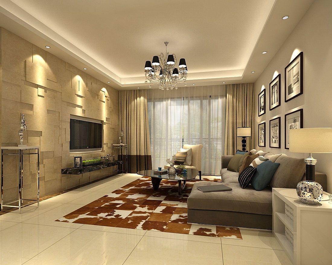 Family Living Room Restaurant Design 3D interior family ...