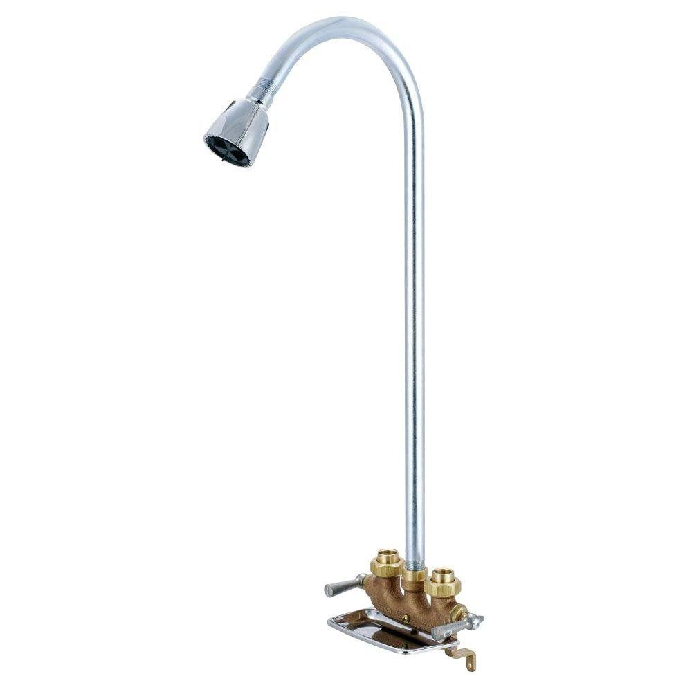 Central Brass 0477 2 Handle Utility Shower To View Further For This Item Visit The Image Link This Is An Affiliate Link Shower Faucet Tub Shower Faucets Faucet Repair