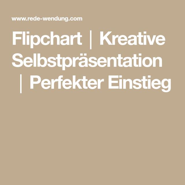 Flipchart Kreative Selbstprasentation Perfekter Einstieg Flipchart Prasentation Lernen