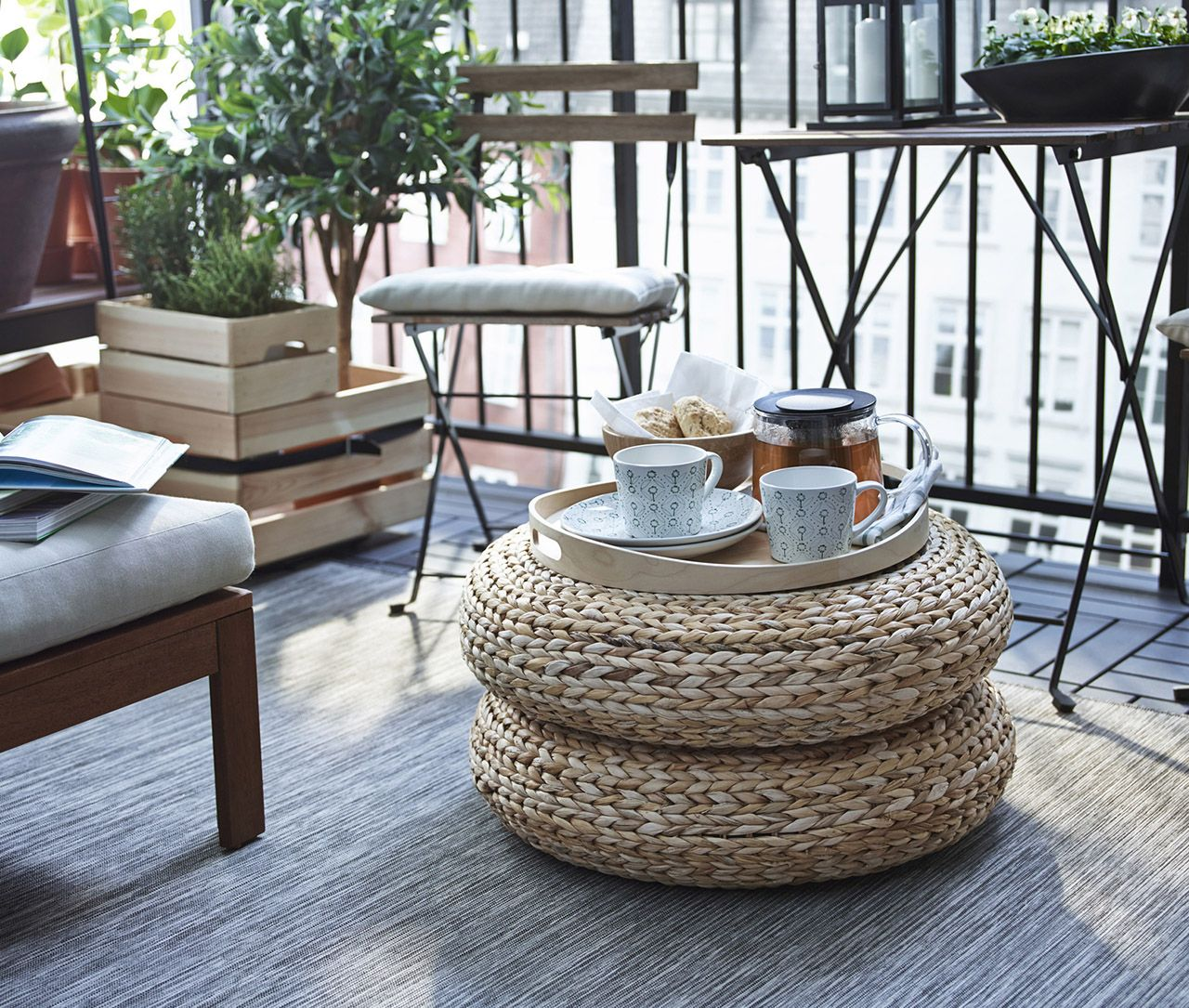 Pouf Alseda Via Goodmoods Deco Exterieure Inspiration Ikea Alseda Ikea