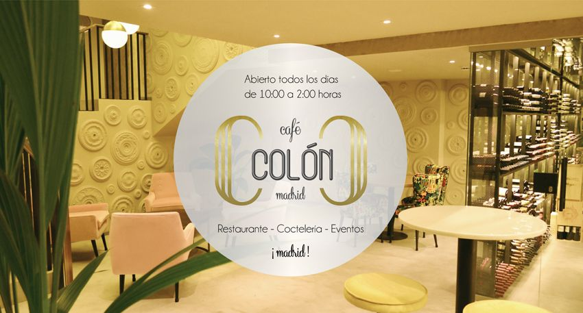 Cafe Colon Madrid Banquetes De Boda Colon Restaurantes
