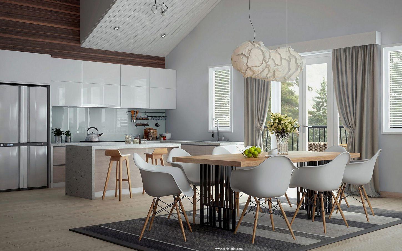 13Modernkitchendiner.jpeg (1449×904) Dining room design