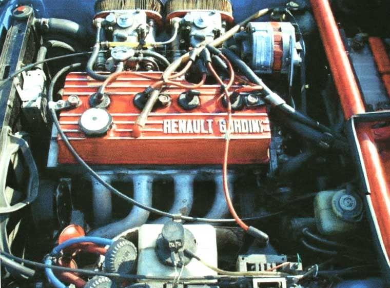 Renault R12 Gordini Renault Alpine Motor Engine Renault