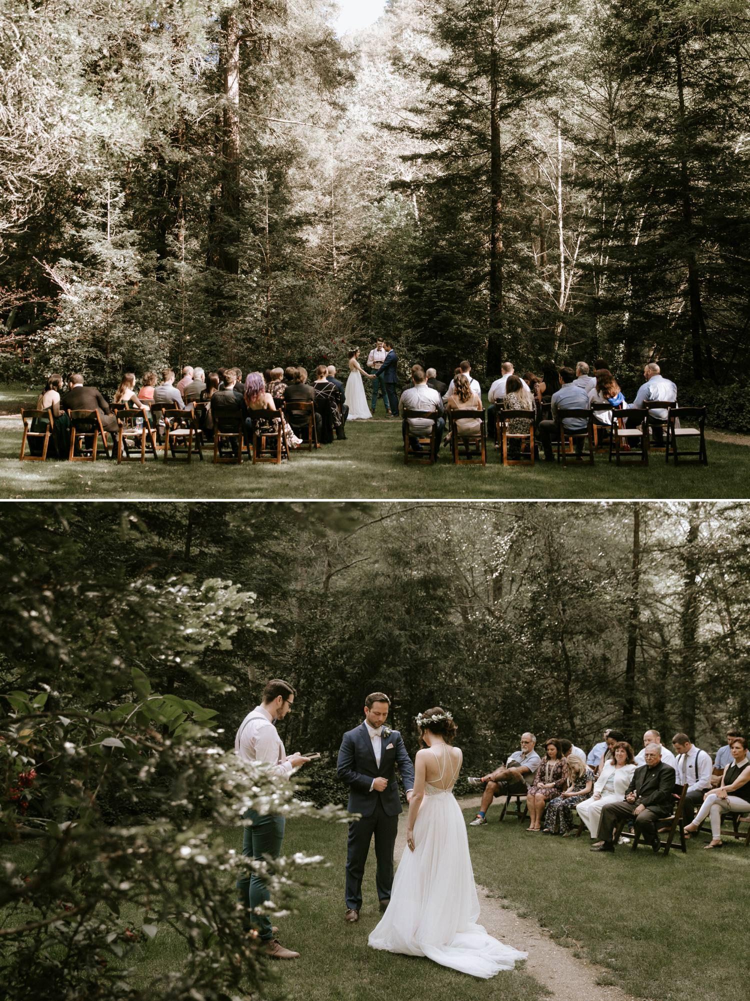 Big Sur Bakery And Glen Oaks Wedding Paige Nelson Photography Big Sur Wedding Small Weddings Ceremony Wedding Inspiration Summer