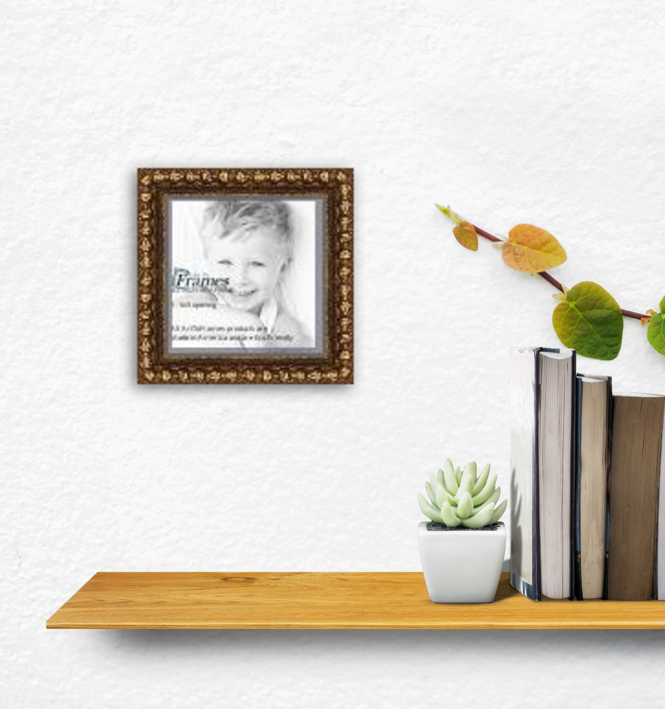 5x5 Aria Gold picture frame | Art I Love | Pinterest | Custom frames ...