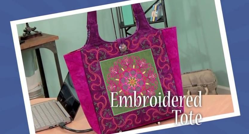 Sew a Kaleidoscope Tote with Angela Wolf - Free Tutorial   Sewing ...
