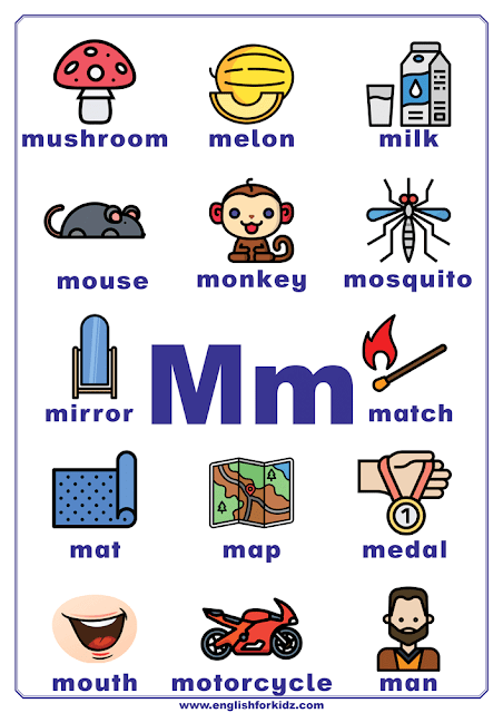 Starting m things with letter 80+ Foods