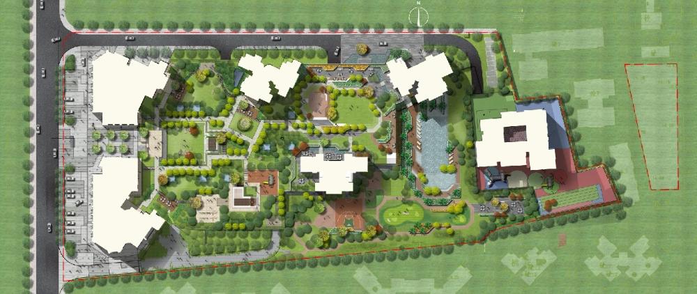 ★Best 10 Types of Residential Landscape PSD color plans Bundle Total 1 24GB PSD Files Best Re manded 💎💎