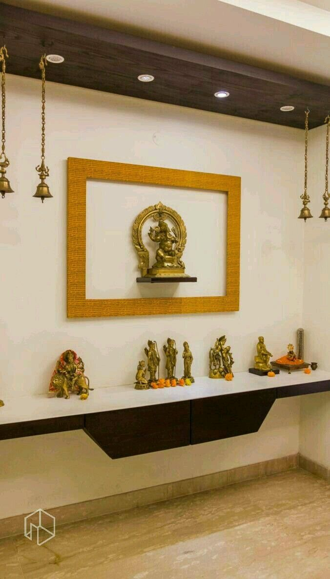 Temple design for home pooja room mandir office interior also pin by teju reddy on rooms rh in pinterest