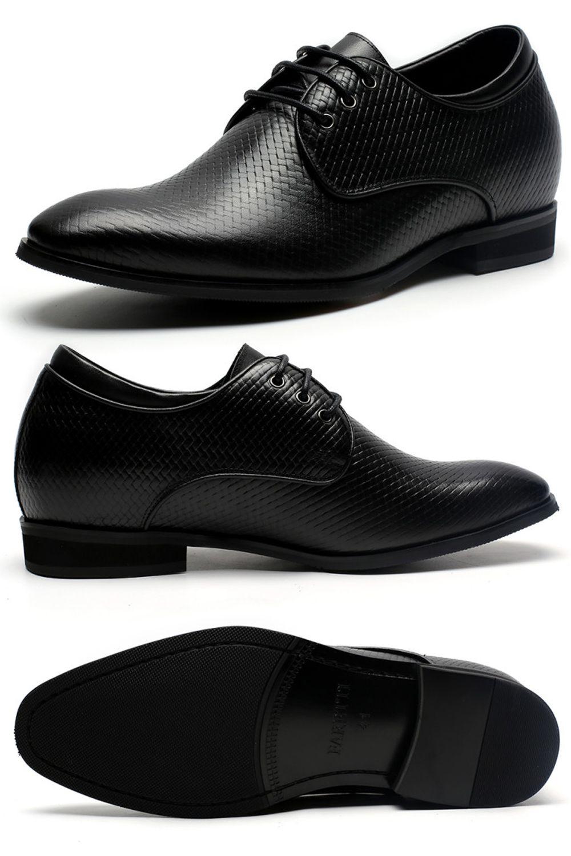 Buty Podwyzszajace Skora Bydleca Faretti Bruno Gleboka Czern Zwiekszenie Wzrostu O 7 Cm All Black Sneakers Sneakers Shoes