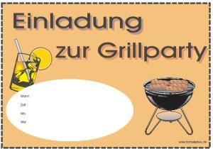 Einladung Hier Herunterladen Einladung Sommerfest Einladungen Grillparty