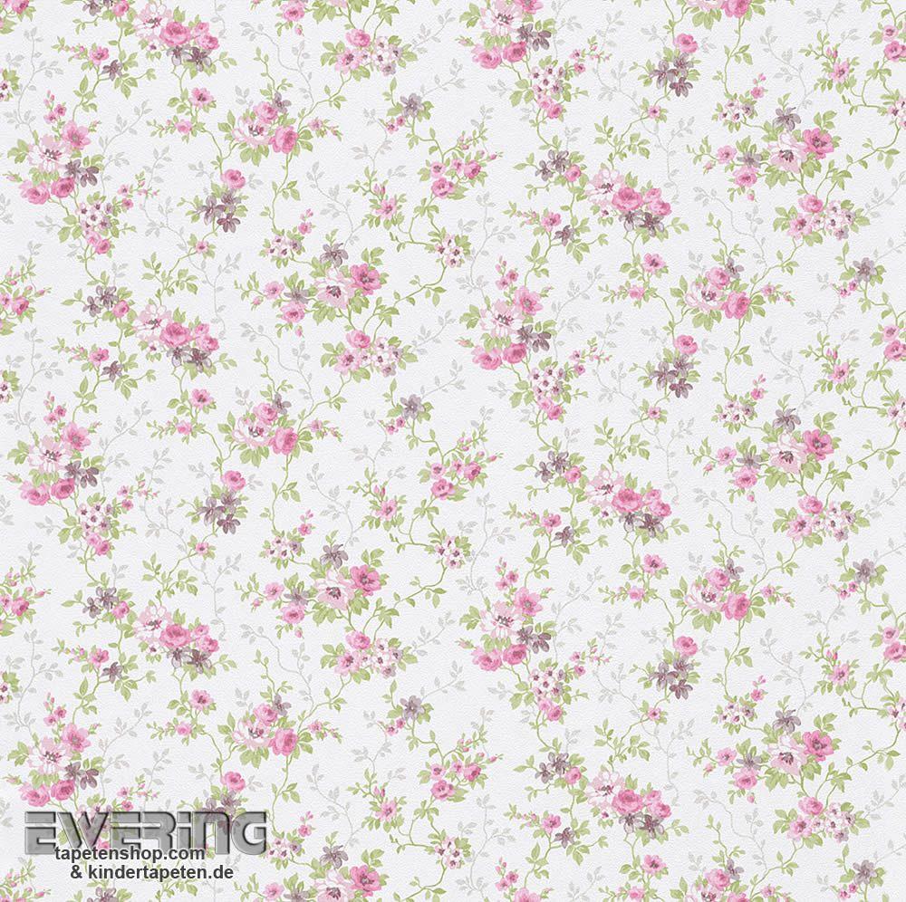 23 285139 Petite Fleur 3 Rasch Textil Rosa Blumen Papiertapete
