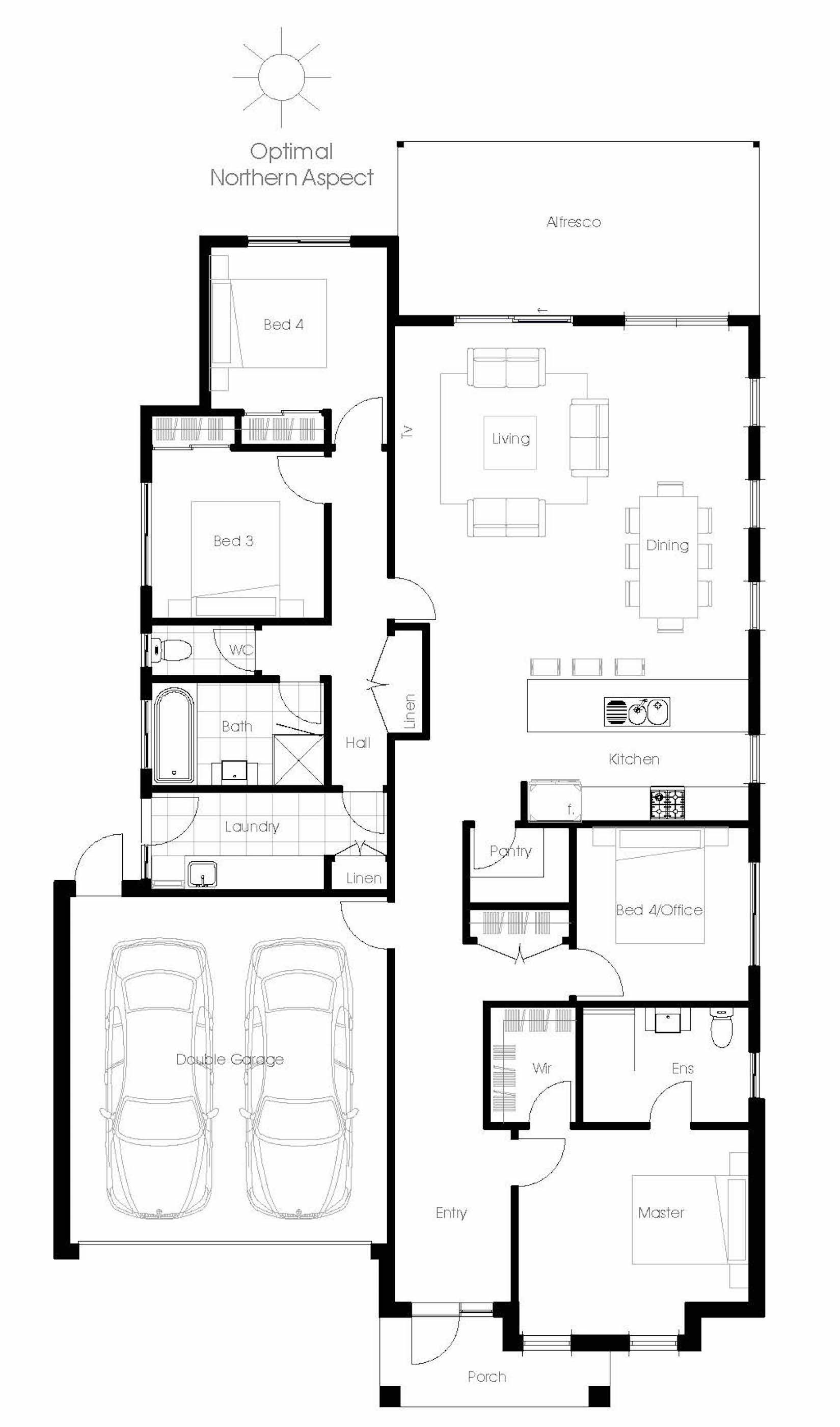 avalon - energy efficient home design - green homes australia