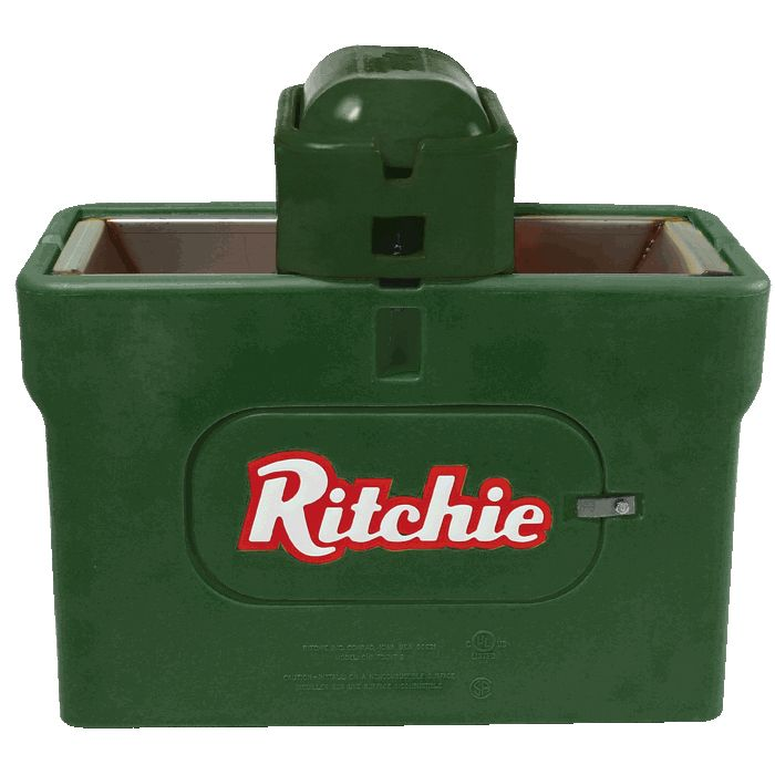 RITCHIE WATERMATIC 100 CATTLE HORSE  AUTOMATIC LIVESTOCK WATERER  FOUNT