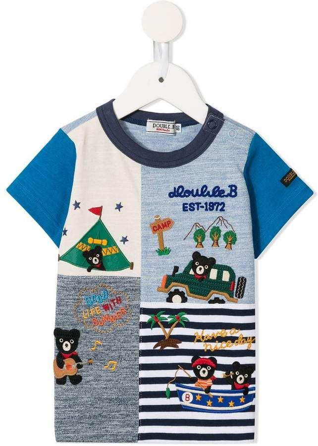 702a135c6 Mikihouse Miki House summer camp T-shirt in 2019 | Products | Kids ...