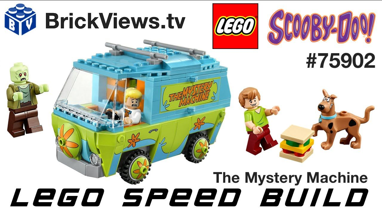 LEGO ScoobyDoo 75902 The Mystery Machine Speed Build