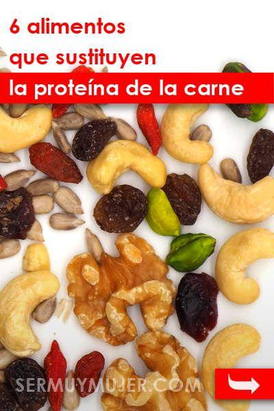 6 Alimentos Que Sustituyen La Proteína De La Carne Dietas Alimentos Alimentacion Food Cooking Lunch