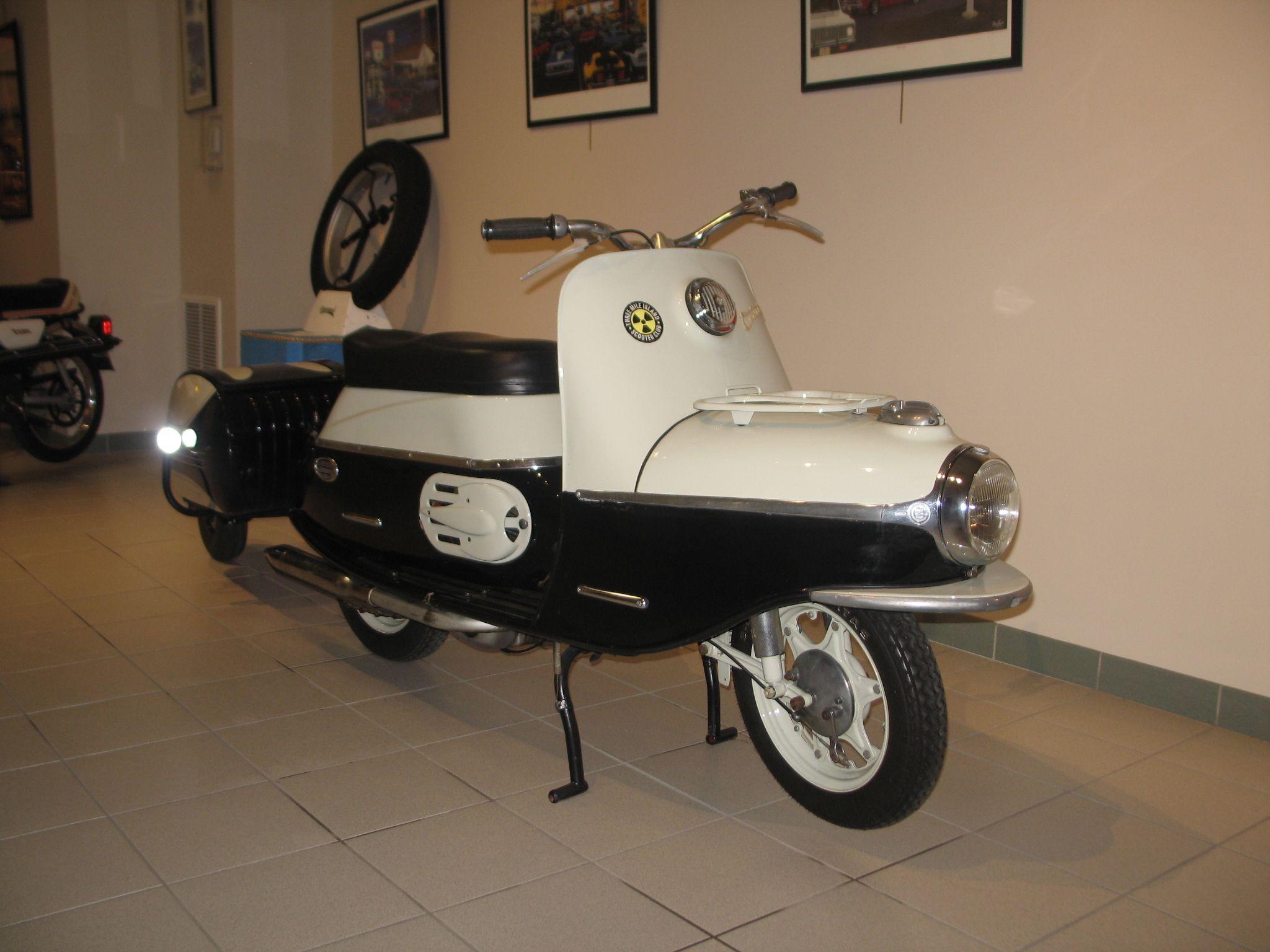 1962 CZ Cezeta 504 PAV40 Trailer