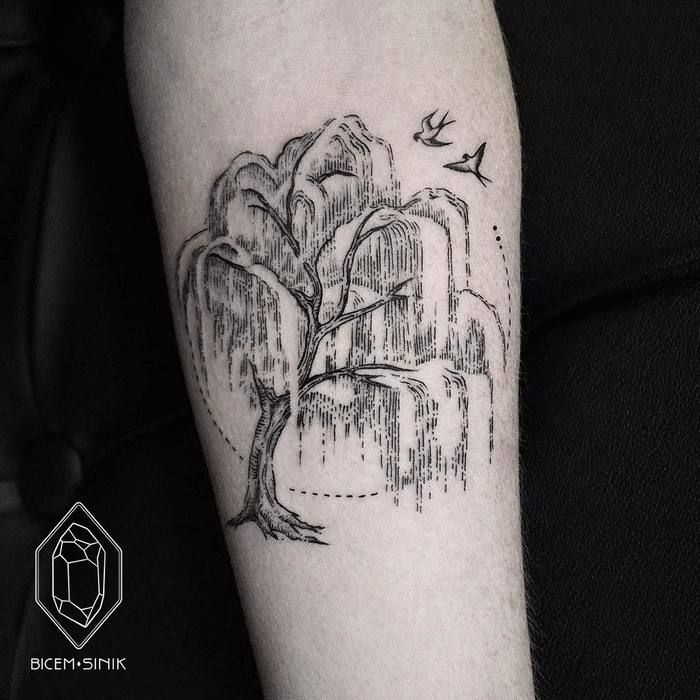 50 mighty tree tattoo designs and ideas willow tree tattoos tattoo and tree tattoo designs. Black Bedroom Furniture Sets. Home Design Ideas