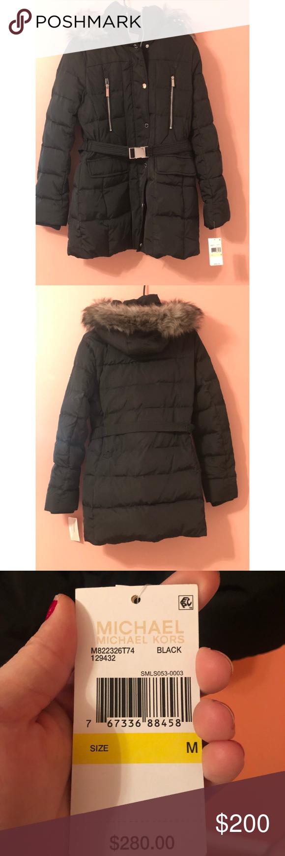 025c9ff43 Michael Kors Winter Down (Puffer) Jacket Brave the winter elements ...